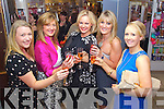 Pictured at the Friday Night Live with Amanda Brunker event in CH Chemist on Friday night, from left: Sarah Boyle, Maria Guthrie, Amanda Brunker, Fiona Barry and Helen Costello..