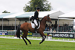 Gary Parsonage riding Sligo Luckyvalier during the dressage phase of the 2012 Land Rover Burghley Horse Trials in Stamford, Lincolnshire