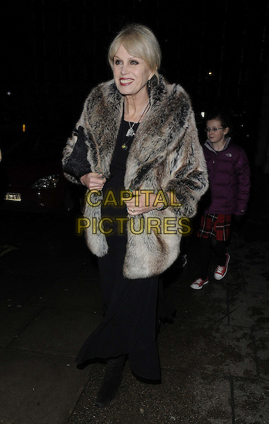 LONDON, ENGLAND - DECEMBER 16: Joanna Lumley attends the &quot;The Wind in the Willows&quot; press night performance, Duchess Theatre, Catherine St., on Monday December 16, 2013 in London, England, UK.<br /> CAP/CAN<br /> &copy;Can Nguyen/Capital Pictures
