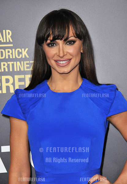 """Karina Smirnoff at the premiere of """"End of Watch"""" at the Regal Cinemas LA Live..September 17, 2012  Los Angeles, CA.Picture: Paul Smith / Featureflash"""