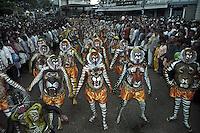 Pulikali, the tiger festival - folk art of Kerala