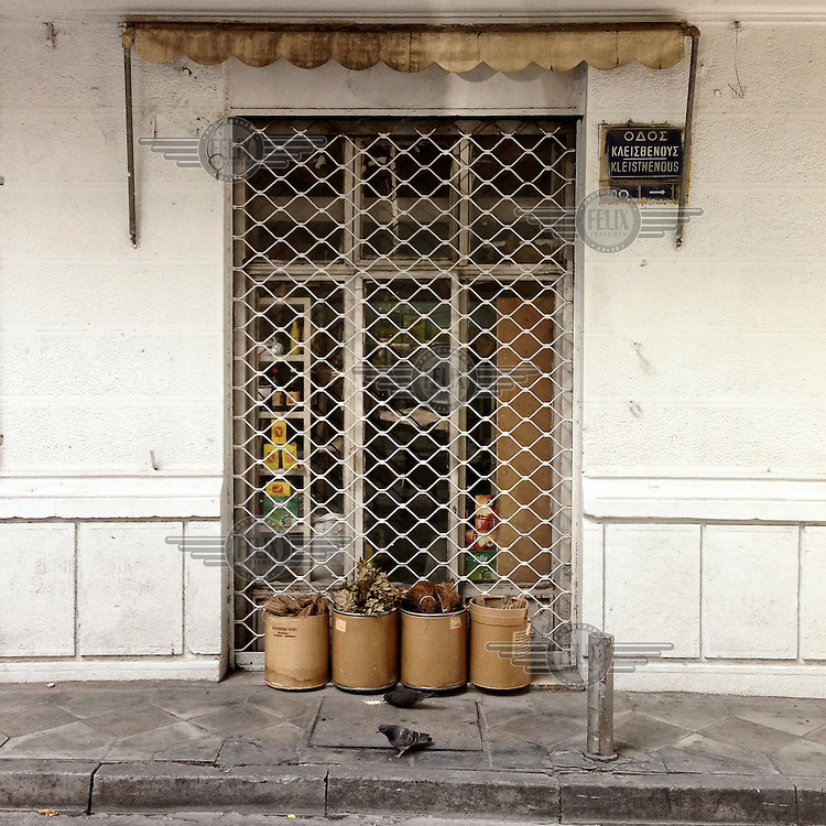 A shop, still operating on Kleisthenous Street, that sells spices.