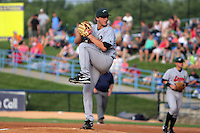 June 27, 2009:  Pitcher Ethan Martin of the Great Lakes Loons delivers a pitch during a game at Fifth Third Ballpark in Comstock Park, NY.  The Loons are the Low-A Midwest League affiliate of the Los Angeles Dodgers.  Photo By Emily Jones/Four Seam Images
