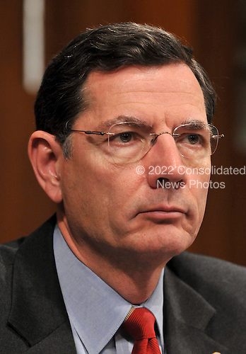 Washington, DC - January 15, 2009 -- United States Senator John Barrasso (Republican of Wyoming) listens as Dr. Susan Rice testifies before the United States Senate Foreign Relations Committee confirmation hearing on her nomination as United Nations Ambassador in Washington, D.C. on Thursday, January 15, 2009..Credit: Ron Sachs / CNP.