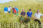 Members of the Castlegregory Golf Club transplanting Marram grass on Saturday.<br /> Front l to r: Tommy King, Eddie Hanafin (Club President) and Michael Burrows.<br /> Back l to r: John Dillane (Captaiin), William Kelliher, John McAuliffe, Eamon Travors, Joe Mulcahy, Alan Kelliher and Liz Horgan.