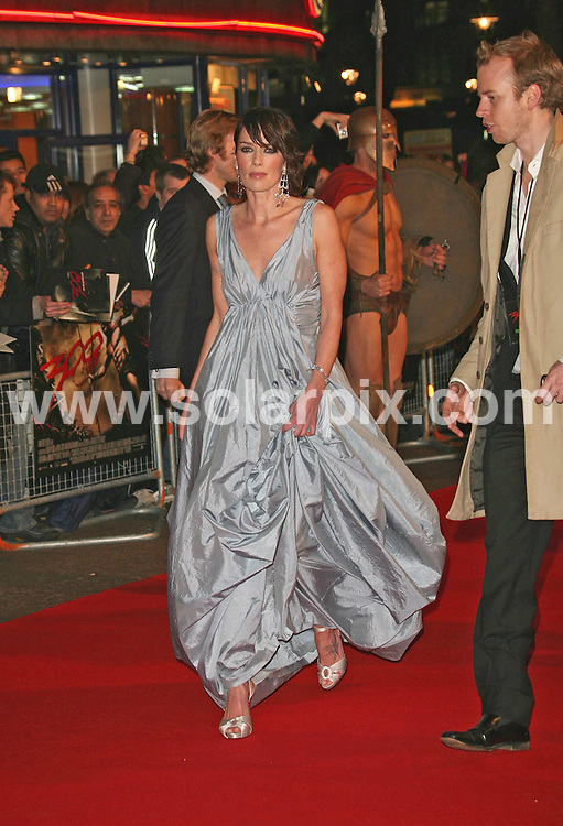**ALL ROUND PICTURES FROM SOLARPIX.COM**.**WORLDWIDE SYNDICATION RIGHTS**.Lena Headley attends the UK premiere of 300 at Vue, Leicester Square, London on 15.03.07..JOB REF:  3532     SSD     DATE: 15.03.07.**MUST CREDIT SOLARPIX.COM OR DOUBLE FEE WILL BE CHARGED* *UNDER NO CIRCUMSTANCES IS THIS IMAGE TO BE REPRODUCED FOR ANY ONLINE EDITION WITHOUT PRIOR PERMISSION*