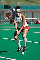 STANFORD, CA - OCTOBER 19:  Nora Soza of the Stanford Cardinal during Stanford's 12-0 win over UC Davis on October 19, 2008 at the Varsity Field Hockey Turf in Stanford, California.