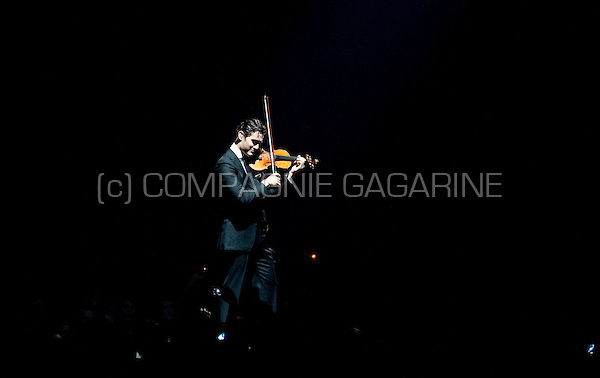 Violin player Charlie Siem at the Night Of The Proms concert in Antwerp (Belgium, 28/10/2010)