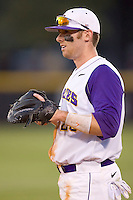 First baseman Stephen Batts #25 of the East Carolina Pirates at bat versus the Elon Phoenix at Clark-LeClair Stadium March 29, 2009 in Greenville, North Carolina. (Photo by Brian Westerholt / Four Seam Images)