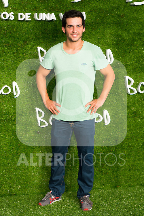 "Fran Perea attend the photocall of the Premiere of the movie ""Boyhood"" at the Cineteca in Madrid, Spain. September 09, 2014. (ALTERPHOTOS/Carlos Dafonte)"