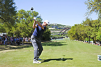 Ross Fisher (ENG) on the 12th during the 5th round at the WGC Dell Technologies Matchplay championship, Austin Country Club, Austin, Texas, USA. 25/03/2017.<br /> Picture: Golffile | Fran Caffrey<br /> <br /> <br /> All photo usage must carry mandatory copyright credit (&copy; Golffile | Fran Caffrey)
