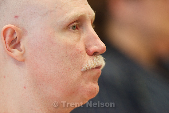 Trent Nelson  |  The Salt Lake Tribune.Draper - Commutation hearing for death-row inmate Ronnie Lee Gardner Thursday, June 10, 2010, at the Utah State Prison.