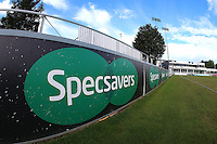 General view of the Specsavers sign during Essex CCC vs Glamorgan CCC, Specsavers County Championship Division 2 Cricket at the Essex County Ground on 12th September 2016