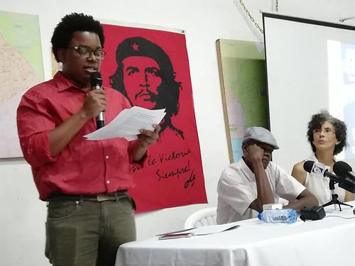 Roudy Joseph, de la organización HaitianosRD.