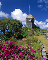 BRB, Barbados, Gunhill Signal Station: denkmalgeschuetzte Signalstation | BRB, Barbados, Gunhill Signal Station