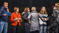 The Judges: Helen Hughes Keen; Betty Brown, Sue Hobson. during the Intermediate 1 Dressage. 2019 Equitana Auckland. ASB Showgrounds. Auckland. New Zealand. Friday 22 November. Copyright Photo: Libby Law Photography