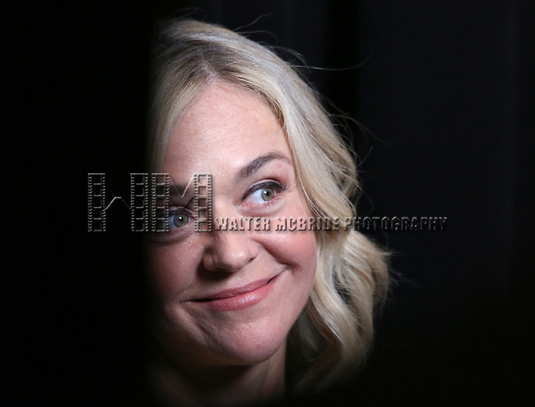 Rachel Bay Jones attends the 2017 Tony Awards Meet The Nominees Press Junket at the Sofitel Hotel on May 3, 2017 in New York City.