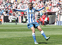 Real Sociedad's Antoine Griezman during La Liga match.April 14,2013. (ALTERPHOTOS/Acero)