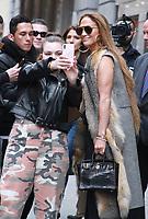 NEW YORK ,NY - April 9: Jennifer Lopez seen in New York City on April 09, 2019. <br /> CAP/MPI/RW<br /> &copy;RW/MPI/Capital Pictures