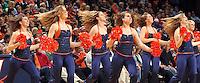 Jan. 8, 2011; Charlottesville, VA, USA;  The Virginia Cavaliers dance team performs during the game against the North Carolina Tar Heels at the John Paul Jones Arena. North Carolina won 62-56. Mandatory Credit: Andrew Shurtleff