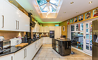 BNPS.co.uk (01202 558833)<br /> Pic: Rightmove/BNPS<br /> <br /> The kitchen<br /> <br /> A period property halfway up one of England's steepest hills is not a home for the faint-hearted.<br /> <br /> The buyer of this house - on the market for £975,000 - will need to be an energetic fitness fan to face the tough slog up the aptly named Steep Hill; the fourth steepest street in the country.<br /> <br /> The Grade II Listed townhouse is on Christs Hospital Terrace in Lincoln, a quaint cobbled street that branches off Steep Hill.<br /> <br /> The road has an unusually severe 16.12-degree gradient, making it one of the steepest residential streets in England, according to the Ordnance Survey.