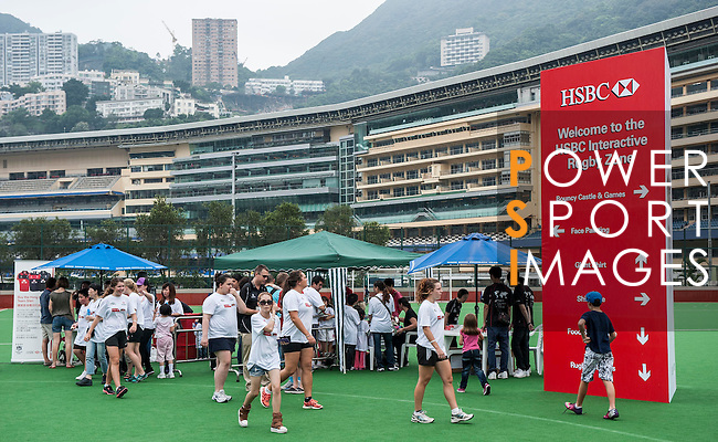 Hong Kong play UAE during their HSBC Asian Five Nations 2013 Top 5 Division match at the Hong Kong Football Club on 20 April 2013 in Hong Kong. Photo by Andy Jones / The Power of Sport ImagesHSBC Interactive Rugby Zone at the Hong Kong Football Club on 20 April 2013 in Hong Kong. Photo by Andy Jones / The Power of Sport Images
