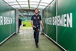 10.08.2019, wohninvest WESERSTADION, Bremen, GER, DFB-Pokal, 1. Runde, SV Atlas Delmenhorst vs SV Werder Bremen<br /> <br /> im Bild<br /> Key Riebau (Trainer / Cheftrainer SV Atlas Delmenhorst) im Spielertunnel, <br /> <br /> vor DFB-Pokal Spiel zwischen SV Atlas Delmenhorst und SV Werder Bremen im wohninvest WESERSTADION, <br /> <br /> Foto © nordphoto / Ewert