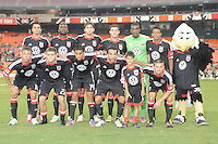D.C. United starting eleven. D.C. United defeated The Chicago Fire 4-2 at RFK Stadium, Wednesday August 22, 2012.