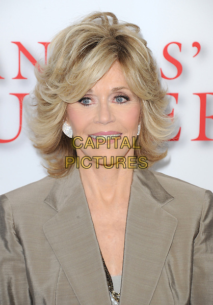 Jane Fonda<br /> &quot;Lee Daniels' The Butler&quot; Los Angeles Premiere held at Regal Cinemas L.A. Live, Los Angeles, California, USA.        <br /> August 12th, 2013    <br /> headshot portrait beige blazer<br /> CAP/DVS<br /> &copy;DVS/Capital Pictures
