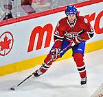 21 December 2008: Montreal Canadiens' center Robert Lang from the Czech Republic in action during the first period against the Carolina Hurricanes at the Bell Centre in Montreal, Quebec, Canada. The Hurricanes defeated the Canadiens 3-2 in overtime. ***** Editorial Sales Only ***** Mandatory Photo Credit: Ed Wolfstein Photo