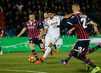 Sami Kheidera  during the  italian serie a soccer match,between Crotone and Juventus      at  the Scida   stadium in Crotone  Italy , February 08, 2017