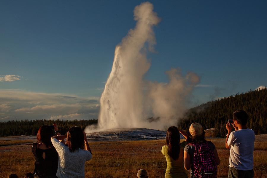 Yellowstone, Wyoming, August 22, 2011 -