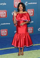 05 November 2018 - Hollywood, California - Taraji P. Henson . Disney's &quot;Ralph Breaks the Internet&quot; Los Angeles Premiere held at El Capitan Theater. <br /> CAP/ADM/BT<br /> &copy;BT/ADM/Capital Pictures