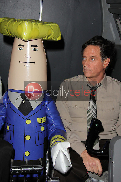 """Robert Hays<br /> at a reunion of """"Airplane"""" original castmembers and directors to film spots for the Wisconsin Department of Tourism, Air Hollywood, Pacoima, CA 09-19-13<br /> David Edwards/Dailyceleb.com 818-249-4998"""