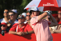 Rory McIlroy (NIR) on the third day of the DUBAI WORLD CHAMPIONSHIP presented by DP World, Jumeirah Golf Estates, Dubai, United Arab Emirates.Picture Denise Cleary www.golffile.ie