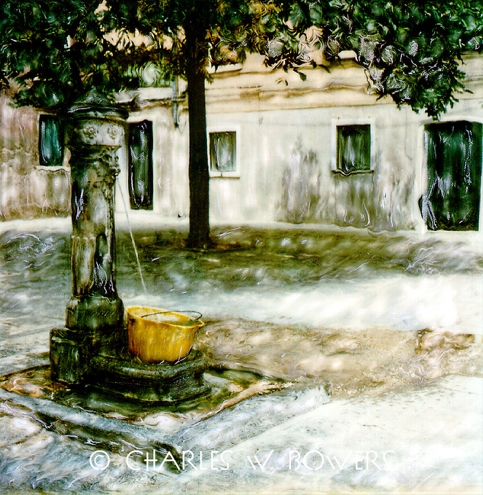 The villagers gather daily to collect water from the well each day. Friends allows exchange some new gossip.<br /> <br /> -Limited Edition of 50 Prints