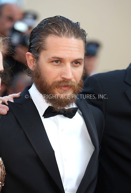 "WWW.ACEPIXS.COM . . . . .  ..... . . . . US SALES ONLY . . . . .....May 18 2012, Cannes....Tom Hardy at the premiere of ""Lawless"" at the Cannes Film Festival on May 18 2012 in France ....Please byline: FAMOUS-ACE PICTURES... . . . .  ....Ace Pictures, Inc:  ..Tel: (212) 243-8787..e-mail: info@acepixs.com..web: http://www.acepixs.com"