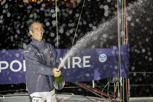 French skipper Armel Le Cléac'h wins the 51st edition