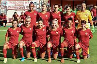 AS Roma team photo line up <br /> Roma 8/9/2019 Stadio Tre Fontane <br /> Luisa Petrucci Trophy 2019<br /> AS Roma - Paris Saint Germain<br /> Photo Andrea Staccioli / Insidefoto