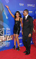 HOLLYWOOD, CA - AUGUST 16: Bobbi Kristina Brown and Nick Gordon arrive for the Los Angeles premiere of 'Sparkle' at Grauman's Chinese Theatre on August 16, 2012 in Hollywood, California. /NOrtePHOTO.COM<br />