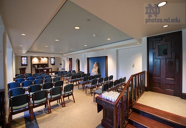 Mar. 26, 2012; Howard Hall chapel..Photo by Matt Cashore/University of Notre Dame