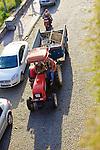Men On Tractor