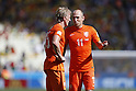 (L-R) Dirk Kuyt, Arjen Robben (NED), JUNE 29, 2014 - Football / Soccer : FIFA World Cup Brazil<br /> match between Netherlands and Mexico at the Castelao stadium in Fortaleza, Brazil. (Photo by AFLO)