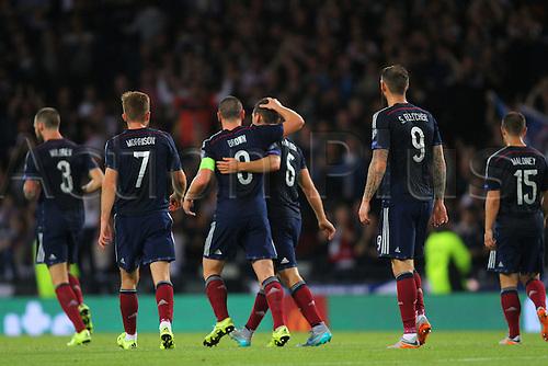 07.09.2015. Edinburgh, Scotland. Euro 2016 Qualifying. Scotland versus Germany.