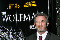 Screenwriter David Self arrives at the US/LA premiere of 'The Wolfman' in Los Angeles, California 09 February 2010. Upon his return to his ancestral homeland, an American man (Del Toro) is bitten, and subsequently cursed by, a werewolf..Photo by Nina Prommer/Milestone Photo