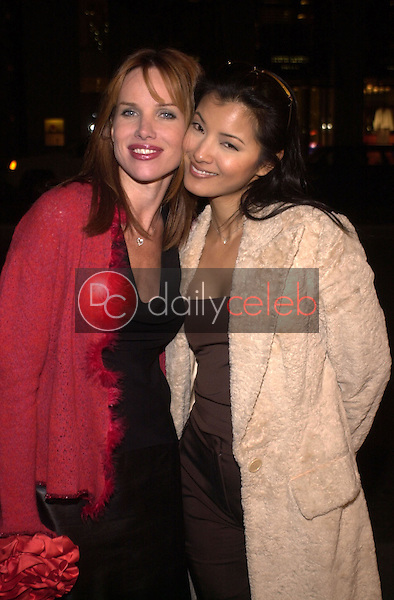 Sarah Buxton and Kelly Hu