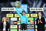 Jon Izaguirre (ESP) Astana Pro Team wins Stage 8 of the 77th edition of Paris-Nice 2019 running 110km from Nice to Nice, France. 16th March 2019<br /> Picture: ASO/Alex Broadway | Cyclefile<br /> All photos usage must carry mandatory copyright credit (&copy; Cyclefile | ASO/Alex Broadway)
