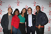 LOS ANGELES - JAN 17:  Bryton James, Loren Lott, Alice Hunter, Christian LeBlanc, Brooks Darnell at the Young and the Restless Celebrates 30 Years at #1 at the CBS Television CIty on January 17, 2019 in Los Angeles, CA