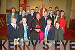 CONFIRMATION: Confirmed in St. Mary's Church Castlegregory on Friday were pupils from Aughasla National School. Pictured were: Brendan Begley, Enda Buckley, Orla Buckley, Eoin Curry, Aran Deely, MaryKate O'Connor, Caoimhin Herlihy, Jack Herlihy, Kelly Herlihy, Kate McCrohan, Michael O'Morain, Huey O'Brien, Anthony O'Connor, Jason O'Donnell, Erin O'Driscoll and Maurice Slattery and Fr. Sean Sheehy.