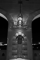 The Sultan Qaboos Grand Mosque is the main Mosque in the Sultanate of Oman